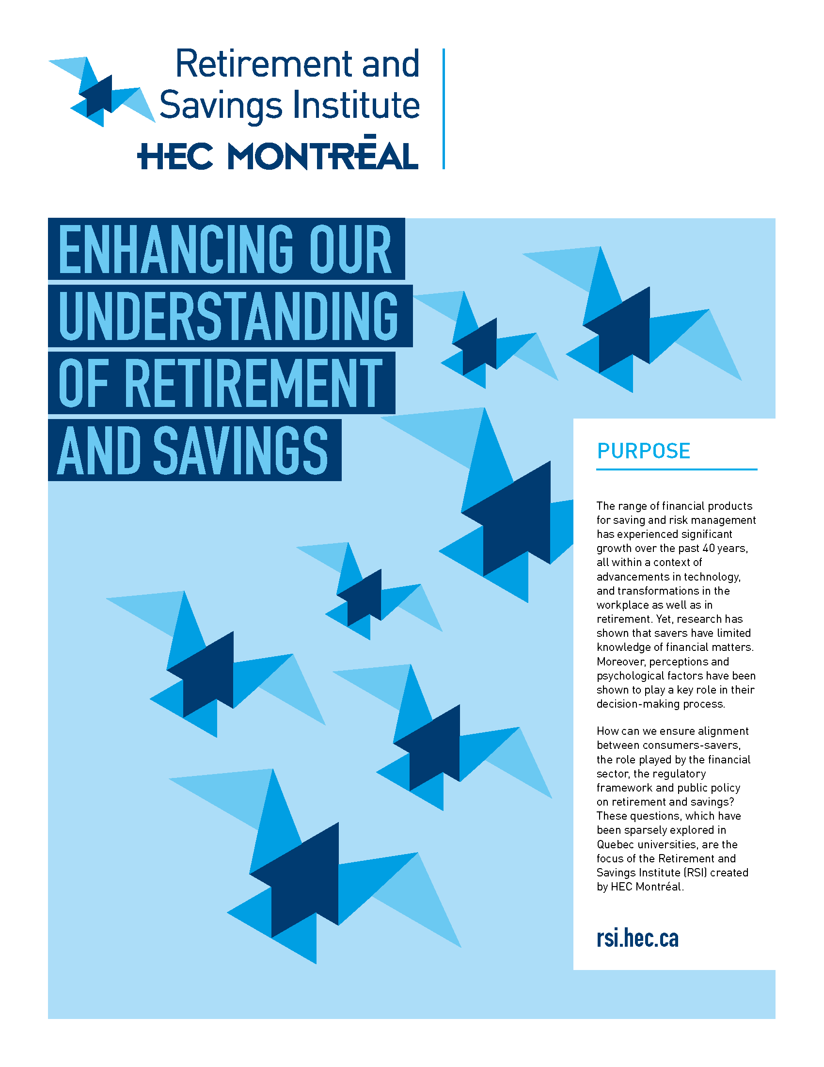 Descriptive Brochure of the Retirement and Savings Institute